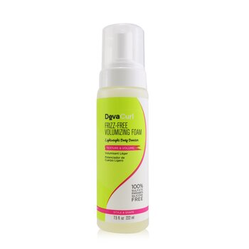DevaCurl Frizz-Free Volumizing Foam (Lightweight Body Booster - Texture & Volume)