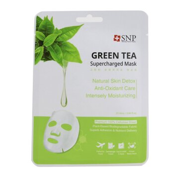 Green Tea Supercharged Mask (Detox) (Exp. Date: 08/2021)