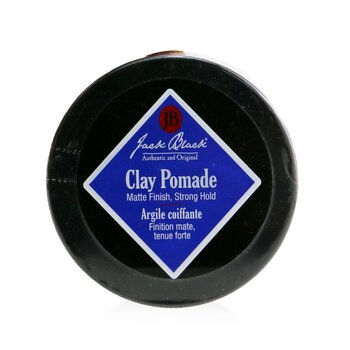 Clay Pomade (Matte Finish, Strong Hold)