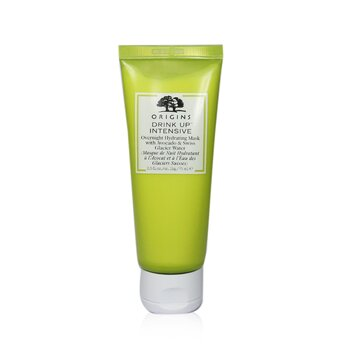 Origins Drink Up Intensive Overnight Hydrating Mask With Avocado & Swiss Glacier Water (For Normal & Dry Skin)