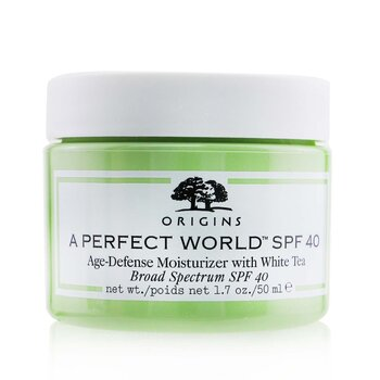 Origins A Perfect World SPF 40 Age-Defense Moisturizer With White Tea